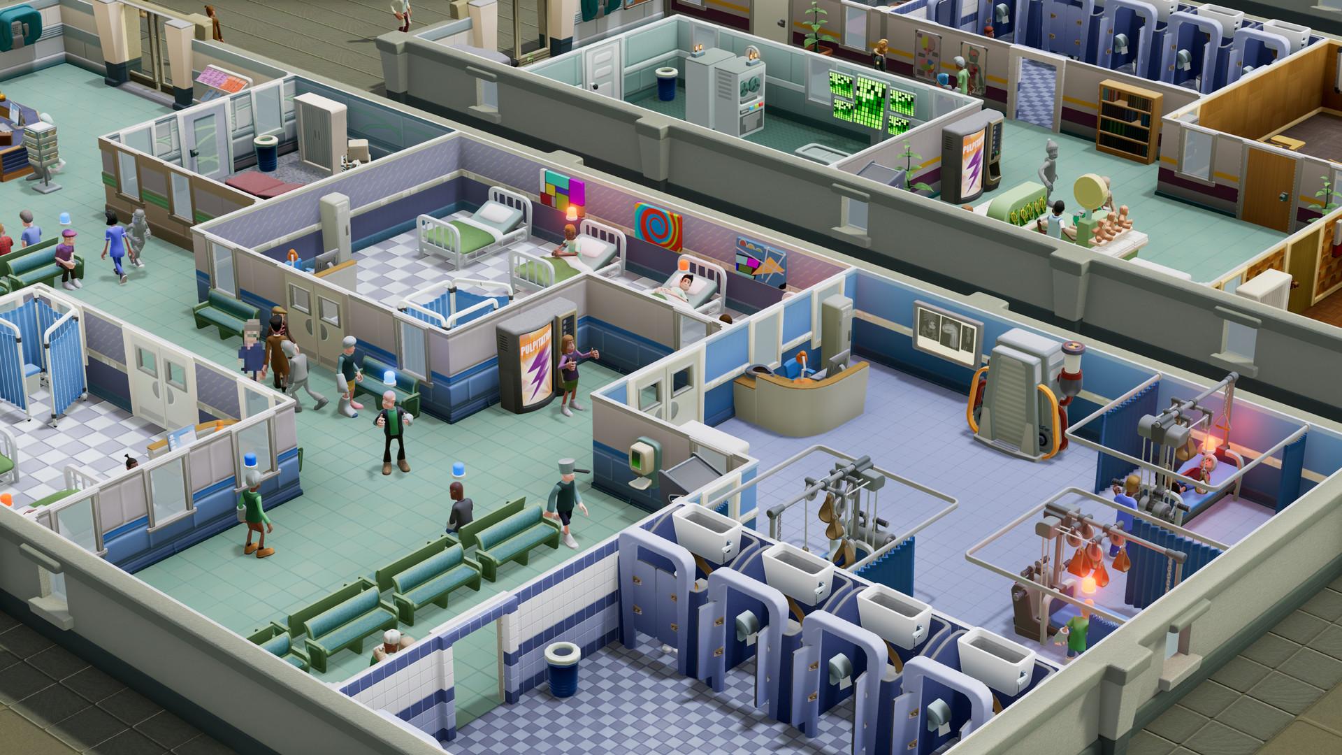 Hasil gambar untuk gambar game two point hospital