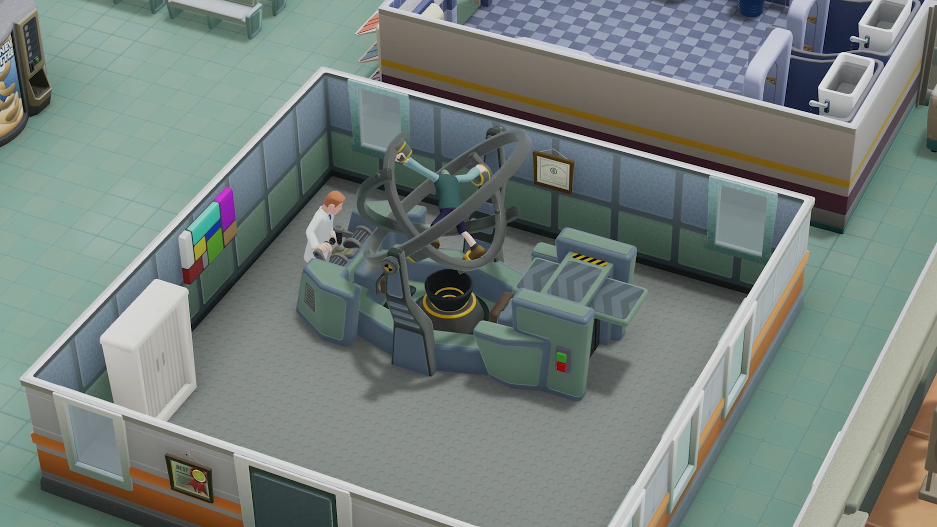 Two Point Hospital [2018|Rus|Eng|Multi9]