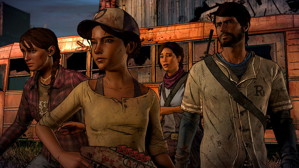 скриншот The Walking Dead: A New Frontier 5