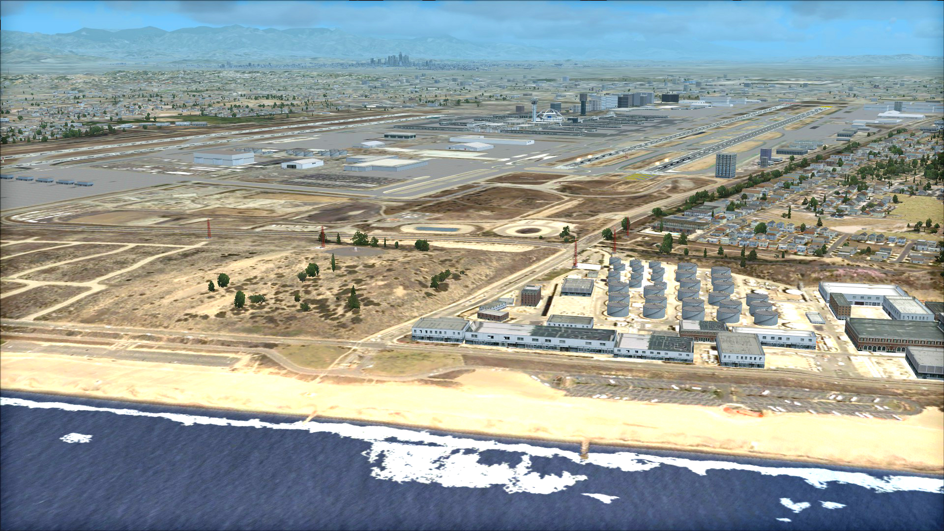 FSX Steam Edition: US Cities X: Los Angeles Add-On
