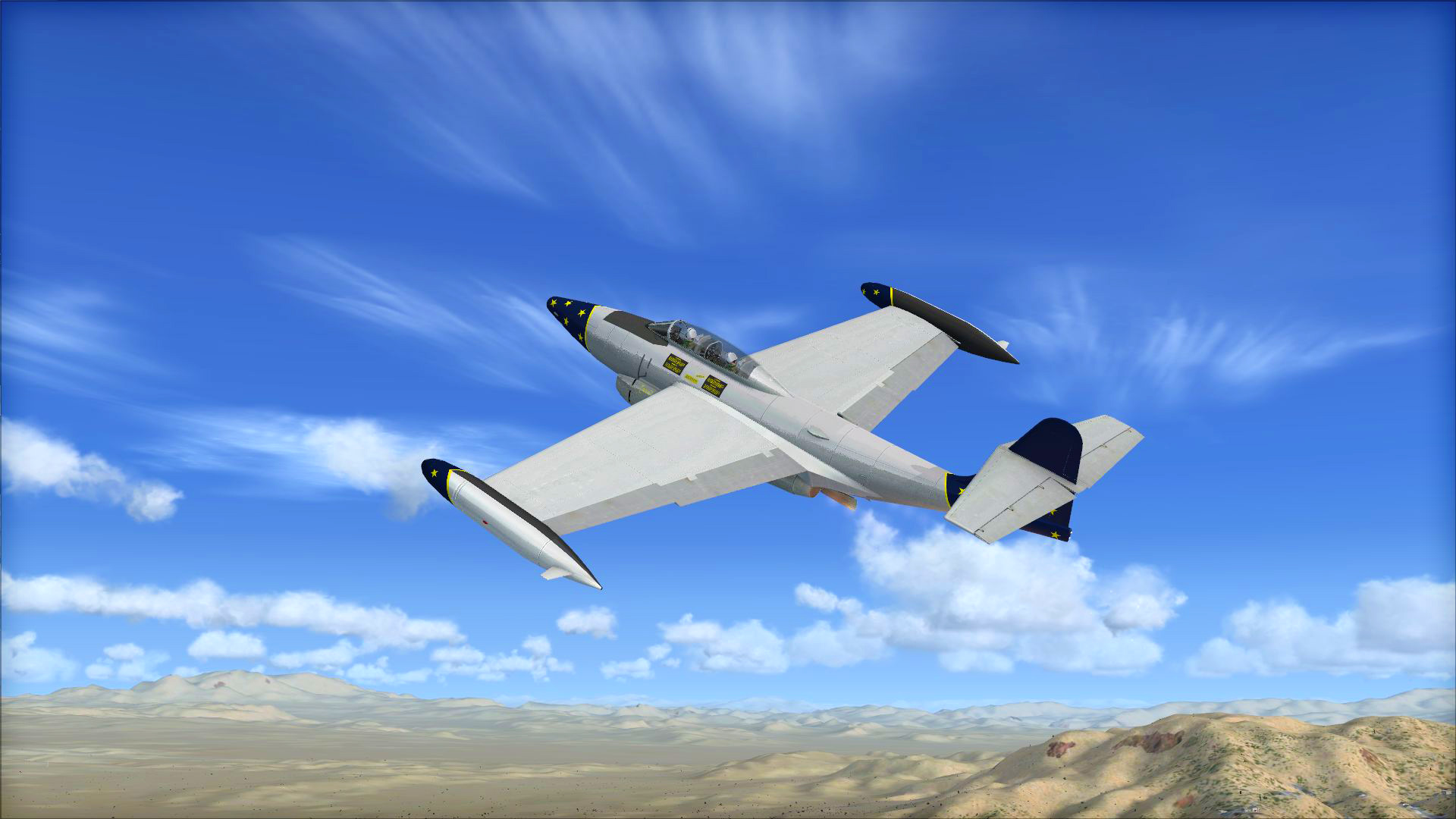 FSX Steam Edition: Northrop F-89 Scorpion Add-On
