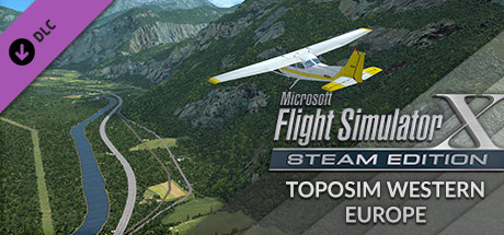 FSX Steam Edition: Toposim Western Europe Add-On