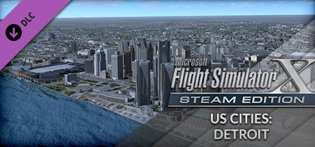 FSX Steam Edition: US Cities: Detroit Add-On