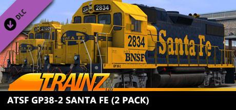 TANE DLC: ATSF GP38-2 Santa FE (2 Pack)