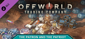 Offworld Trading Company - The Patron and the Patriot DLC cover art