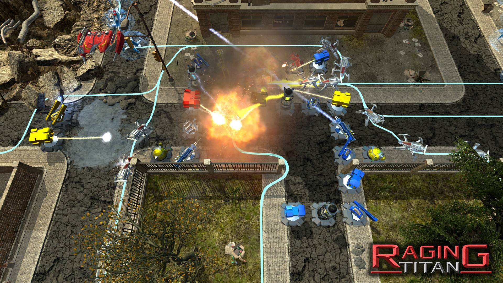 Raging Titan Screenshot 2