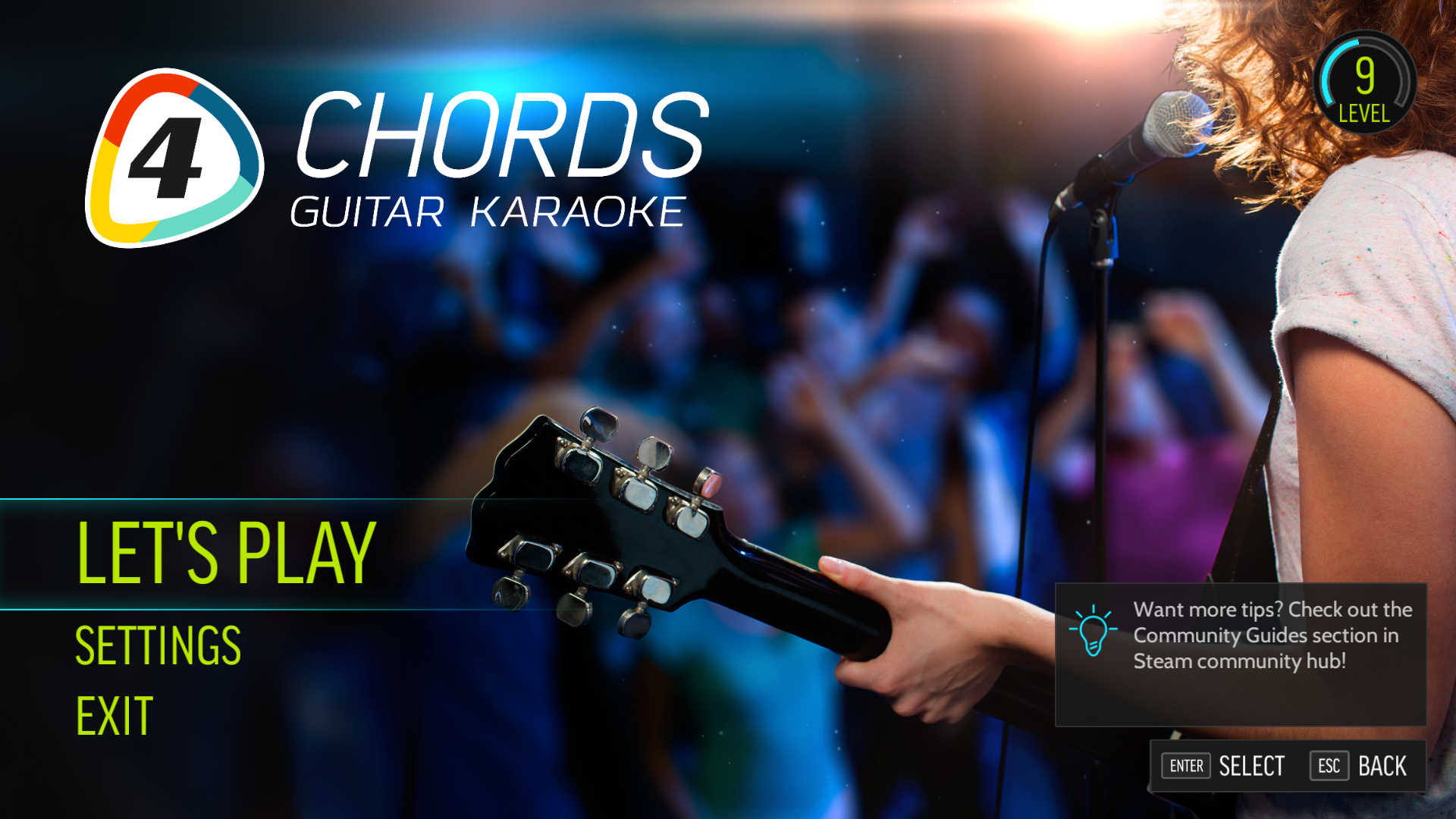 Fourchords Guitar Karaoke Brad Paisley Song Pack On Steam