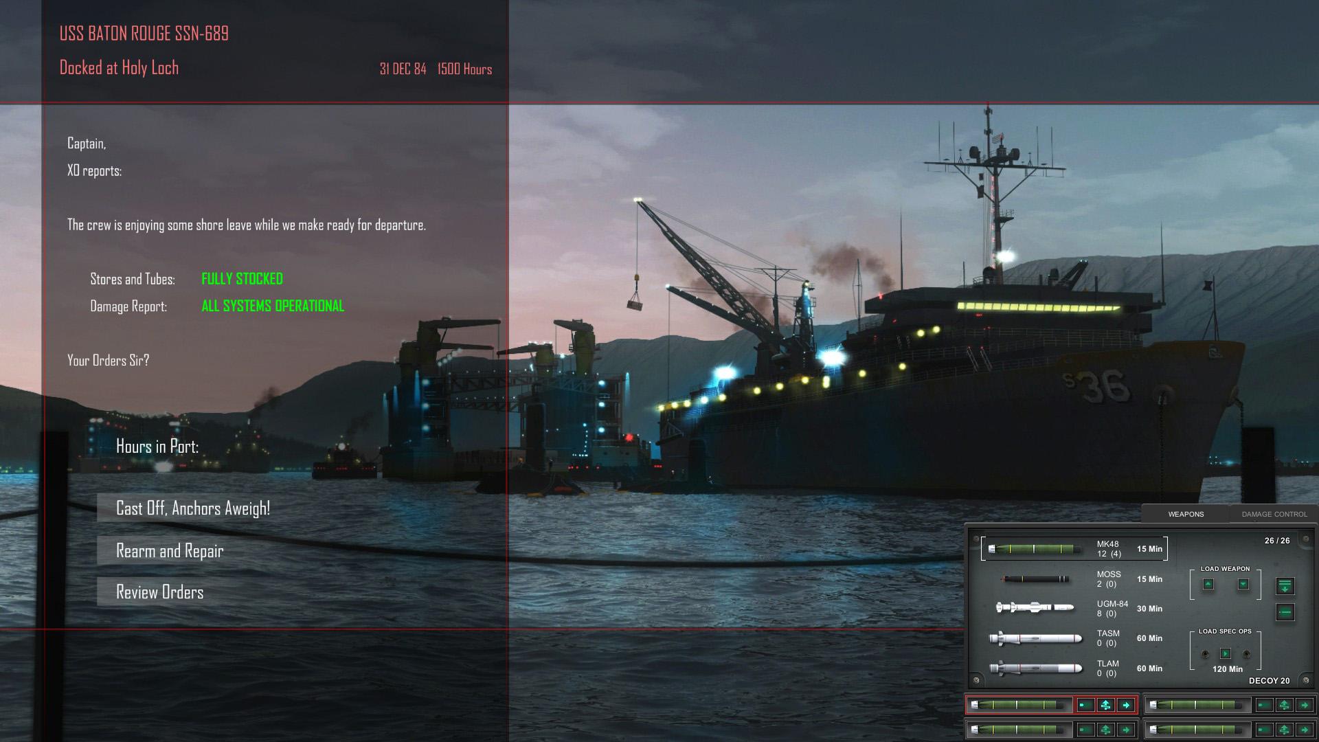 Cold Waters screenshot 1