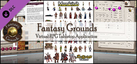 Fantasy Grounds - ArcKnight Tokens - Mankind