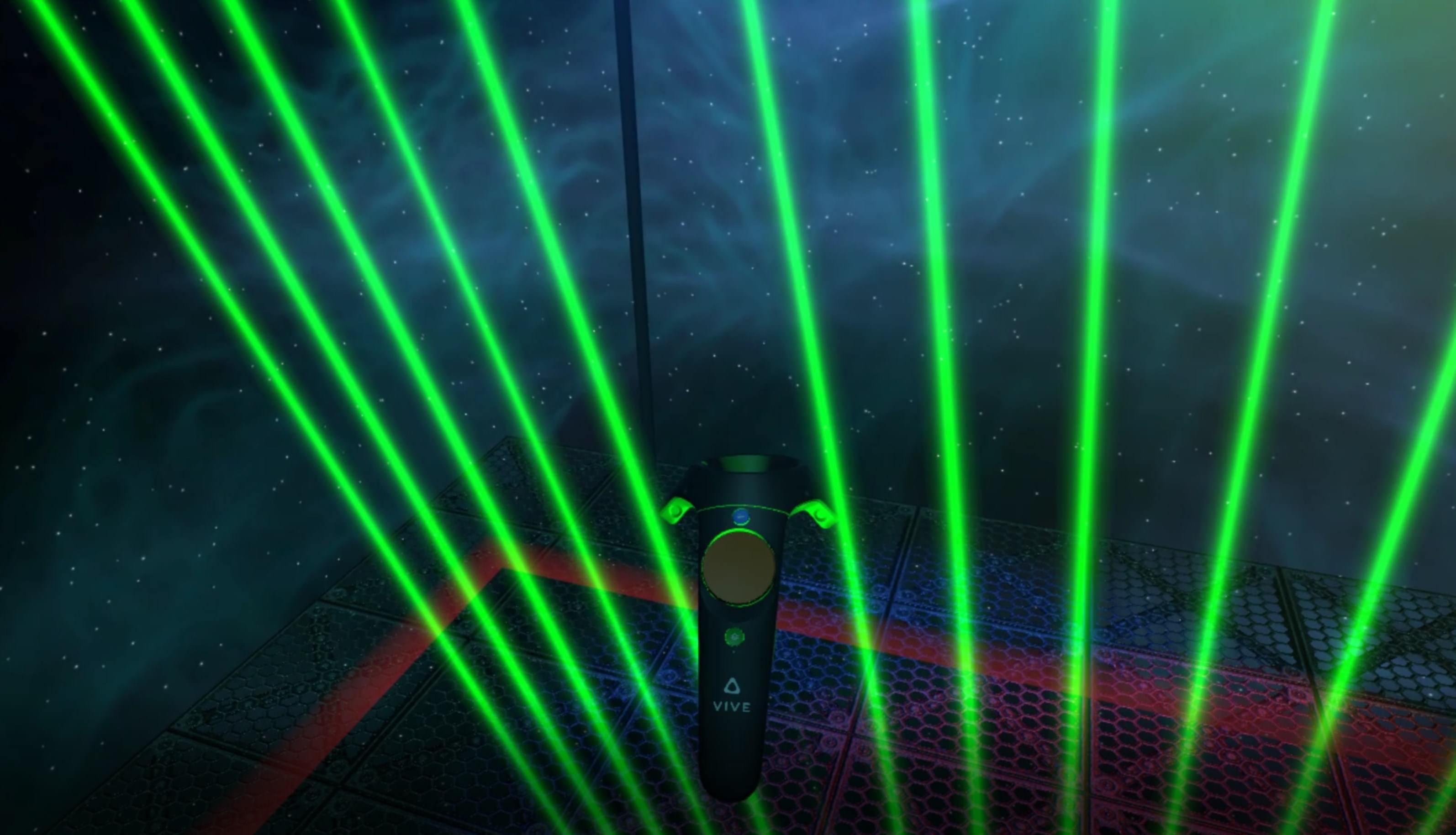What's On Steam - VR Laser Harp
