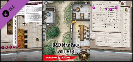 Fantasy Grounds - D&D Map Pack Volume 1 on Steam on
