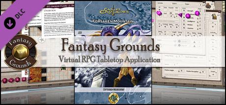 Fantasy Grounds - C&C: A8 Forsaken Mountain