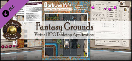 Fantasy Grounds - Darkwoulfe's Token Pack Volume 17