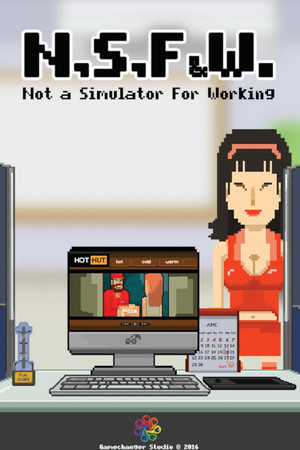 NSFW ~ Not a Simulator For Working poster image on Steam Backlog