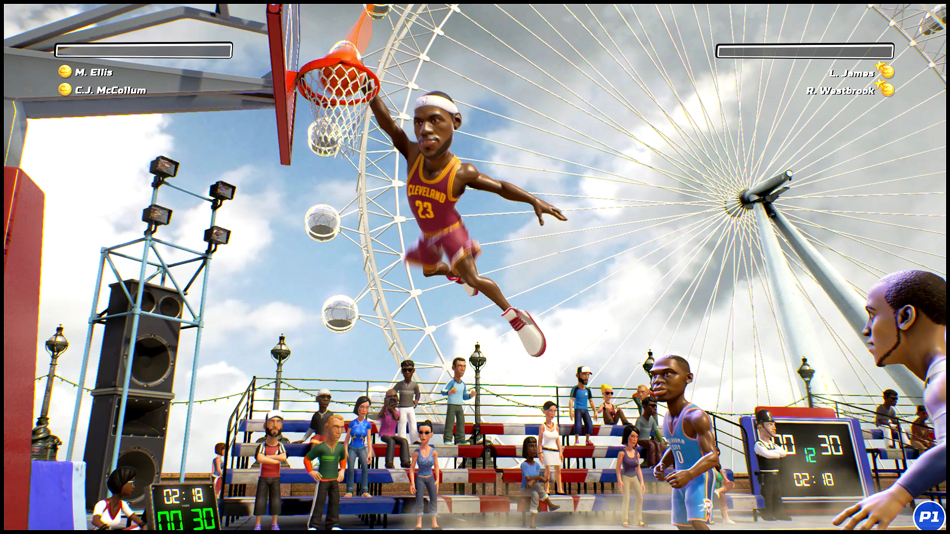 NBA Playgrounds Screenshot 1
