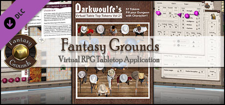 Fantasy Grounds - Darkwoulfe's Token Pack Volume 21