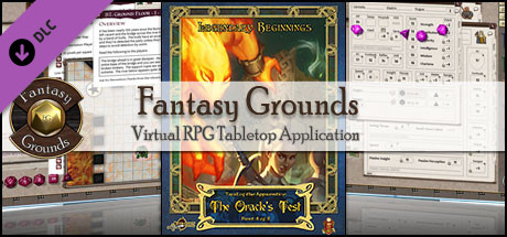 Fantasy Grounds - Trail of the Apprentice: The Oracle's Test