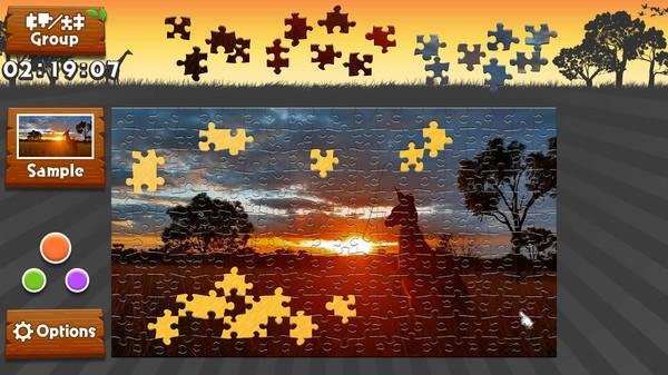 Wild Animals - Animated Jigsaws