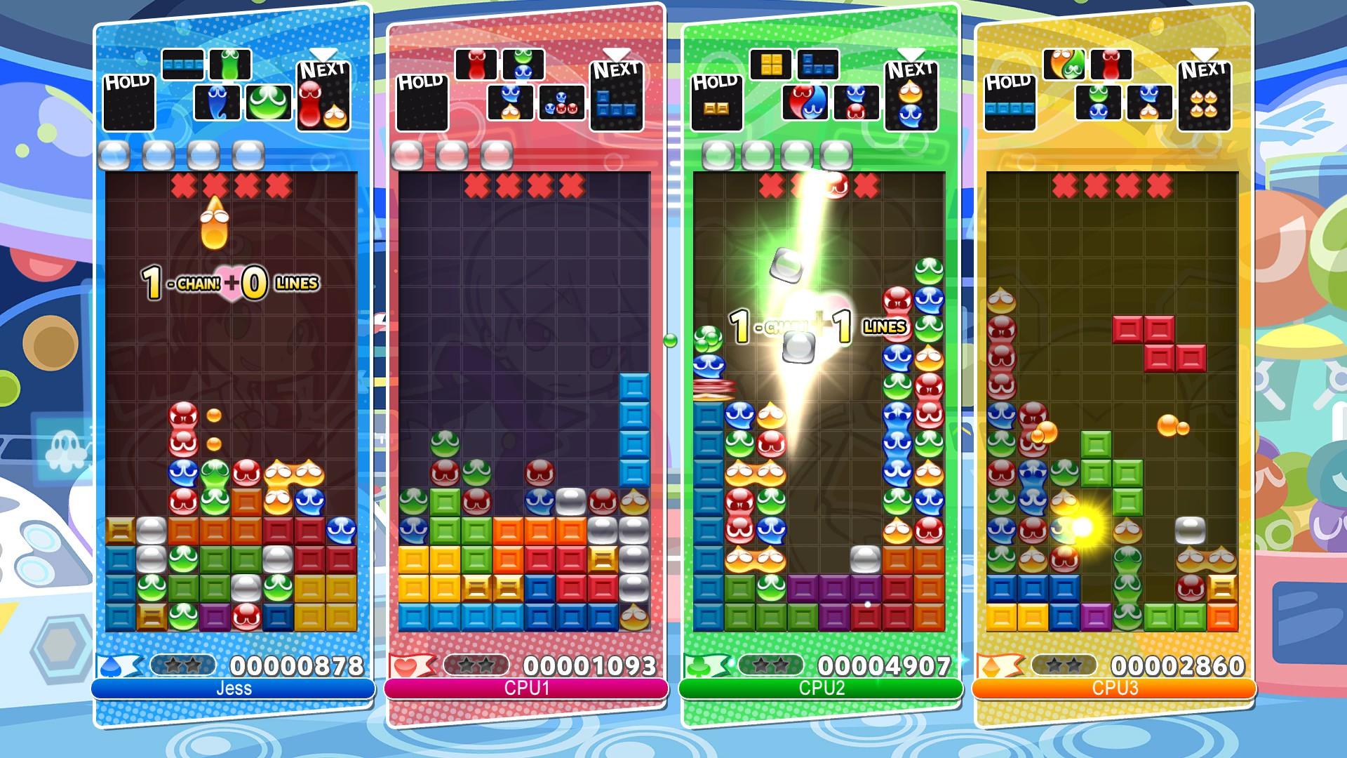 Puyo PuyoTetris screenshot