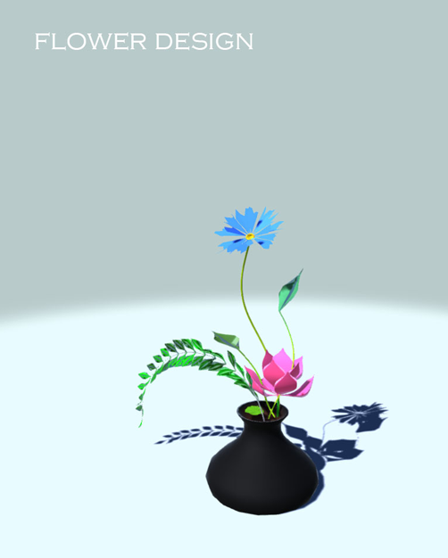 Flower design on steam for virtual plants the shapes and colors are freely adjustable they are living things full generated and controlled by program codes altavistaventures Image collections