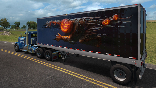 save 50 on american truck simulator halloween paint jobs pack on
