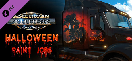 American Truck Simulator - Halloween Paint Jobs Pack