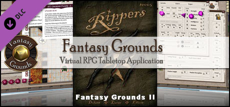 Fantasy Grounds - Rippers (Savage Worlds)