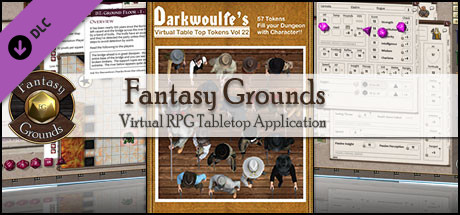 Fantasy Grounds - Darkwoulfe's Token Pack Volume 22