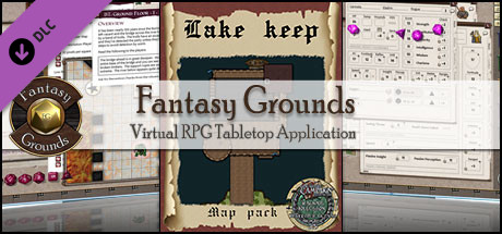 Fantasy Grounds - Map Pack: Lake Keep
