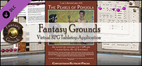 Fantasy Grounds - 1 on 1 Adventures #13: The Pearls of Pohjola (PFRPG)