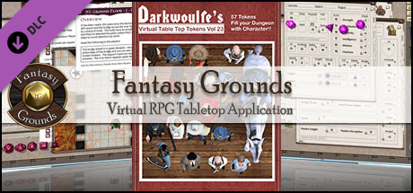 Fantasy Grounds - Darkwoulfe's Token Pack Volume 23