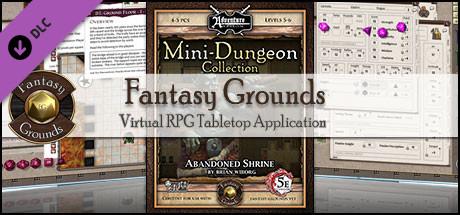 Fantasy Grounds - Mini-Dungeon #006: Abandoned Shrine (5E)