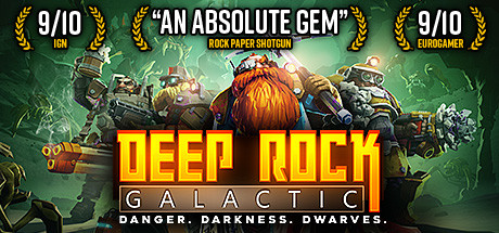 Save 35% on Deep Rock Galactic on Steam