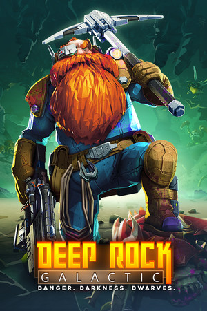 Deep Rock Galactic poster image on Steam Backlog