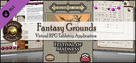 Fantasy Grounds - Sundered Skies: Festival of Madness (Savage Worlds)