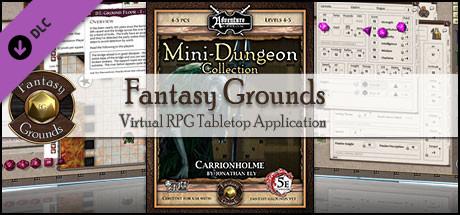 Fantasy Grounds - Mini-Dungeon #008: Carrionholme (5E)