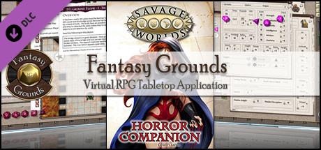 Savage Worlds Horror Companion Pdf
