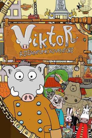 Viktor, a Steampunk Adventure poster image on Steam Backlog