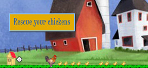 Rescue your chickens cover art