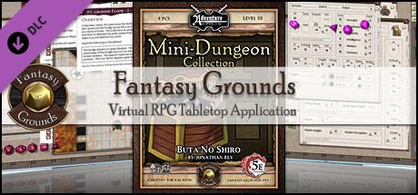 Fantasy Grounds - Mini-Dungeon #011: Buta No Shiro (5E)