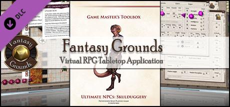 Fantasy Grounds - Ultimate NPCs: Skullduggery (PFRPG)