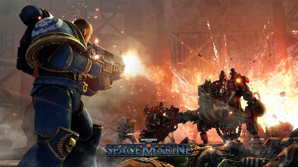 скриншот Warhammer 40,000: Space Marine 4