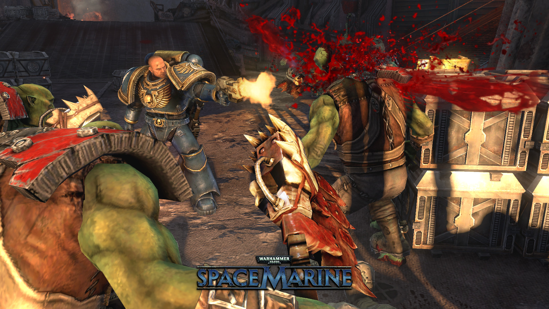 Warhammer 40,000: Space Marine · AppID: 55150