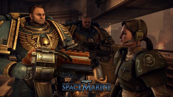 скриншот Warhammer 40,000: Space Marine 3