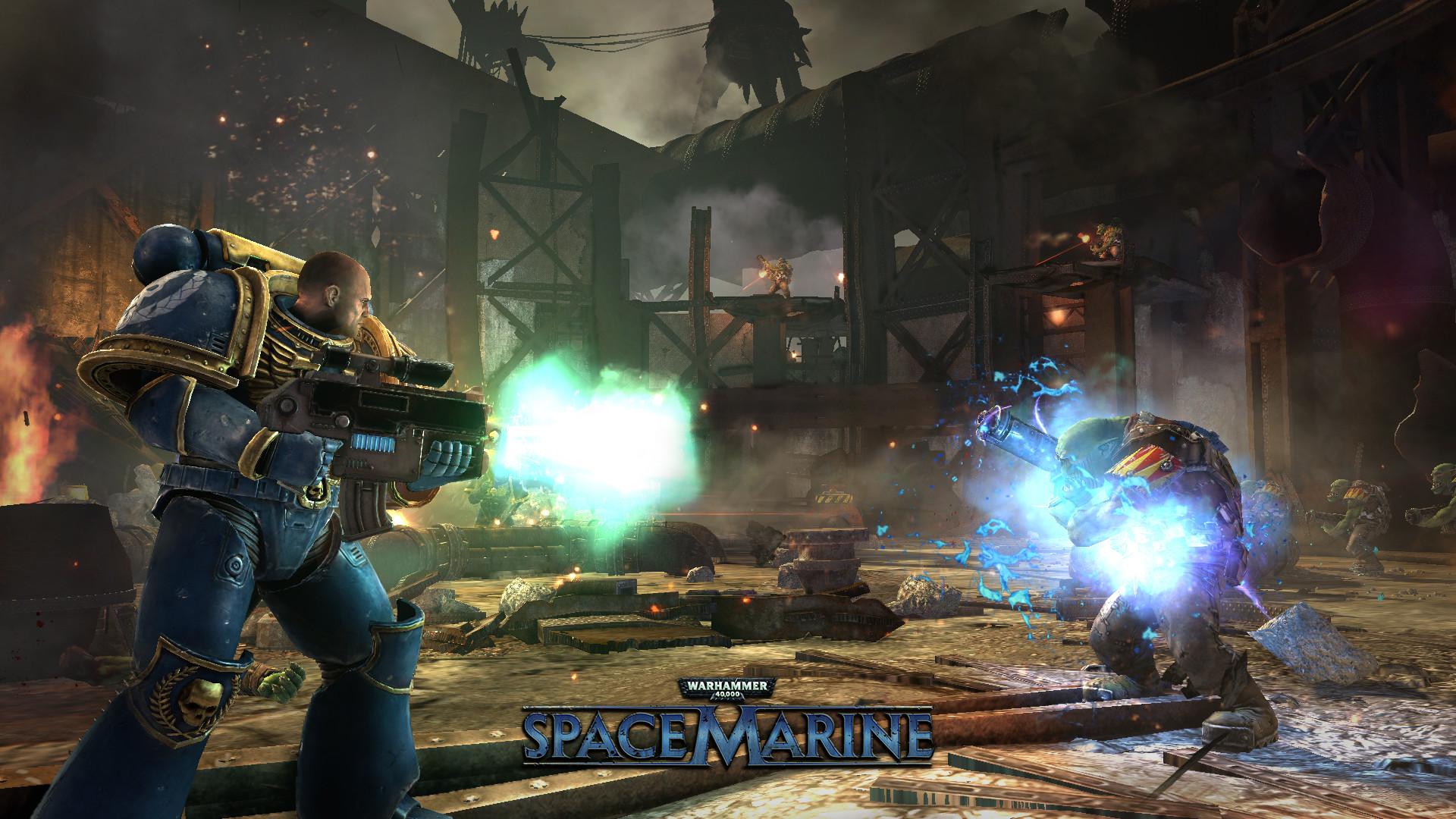 Warhammer 40000 Space Marine On Steam Hacks And Mods Computer Case 40k