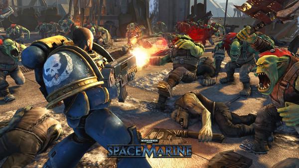 скриншот Warhammer 40,000: Space Marine 1