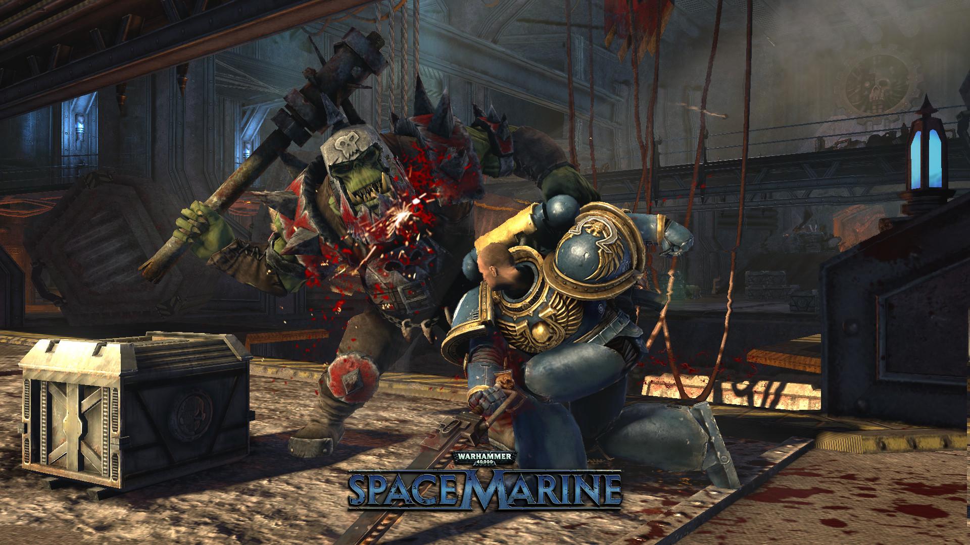 space marine game