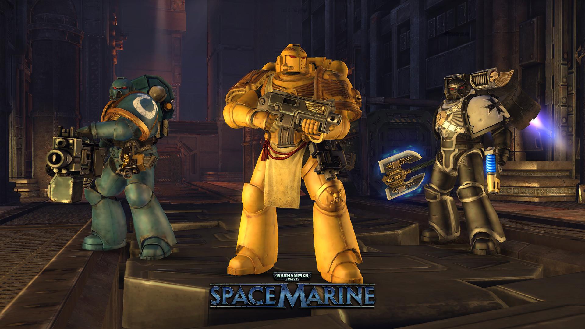 Warhammer 40,000: Space Marine · AppID: 55150