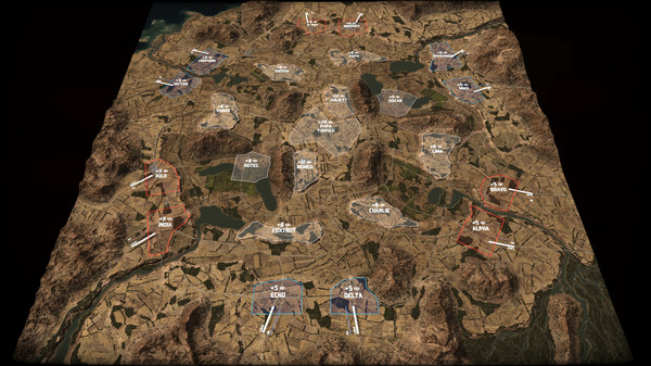 скриншот Wargame: Red Dragon - Russian Roulette [10vs10 Map DLC] 0