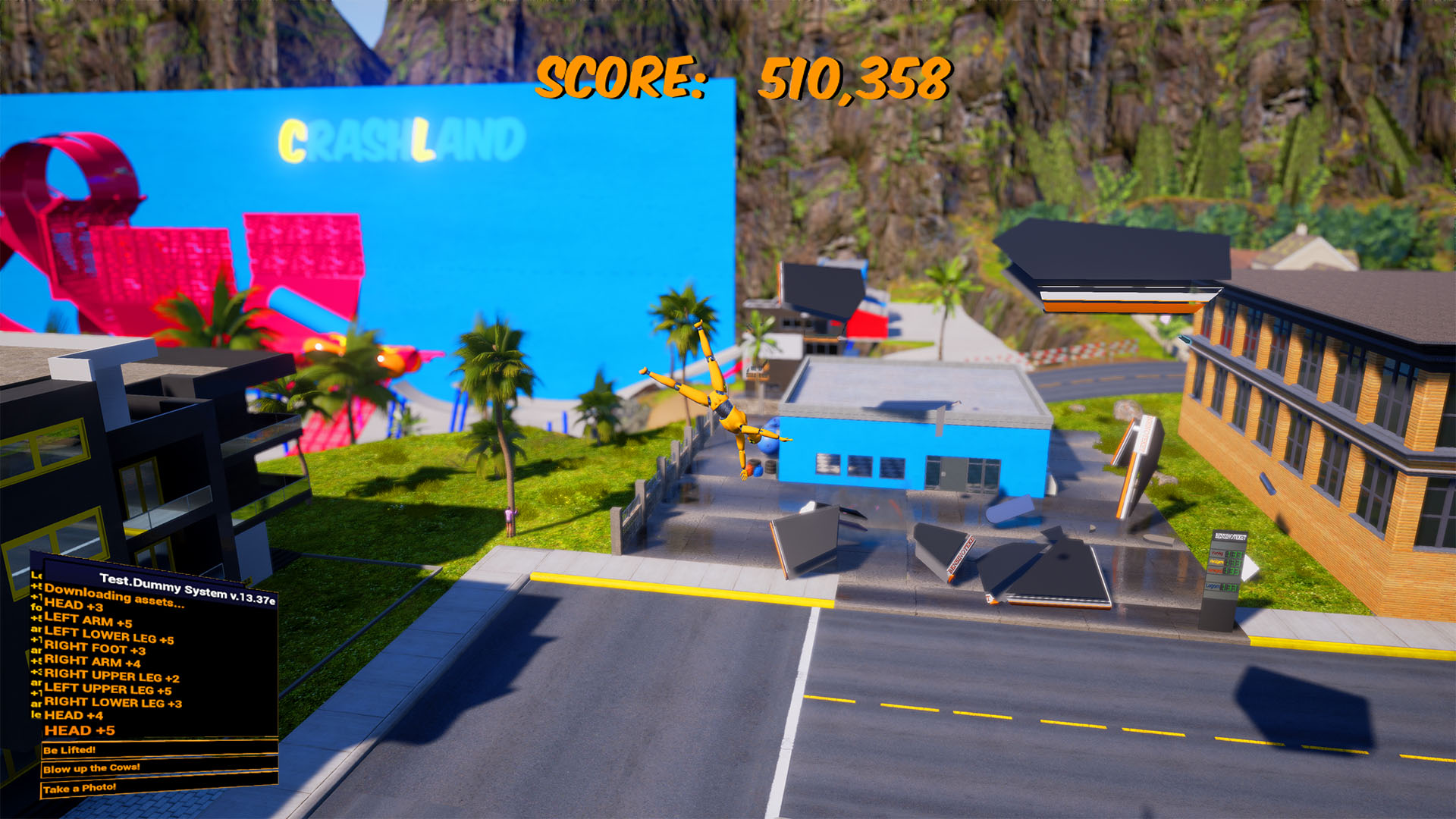 Whiplash - Crash Valley Screenshot 1